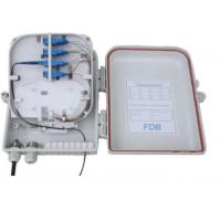 Buy cheap High Impact Plastic Fiber Distribution Box For FTTH Project , SGS ISO Listed from wholesalers
