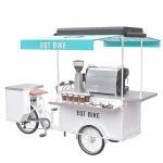 Buy cheap Multifunction Mobile Food Bike , Custom Coffee Cart 150KG Load Capacity from wholesalers