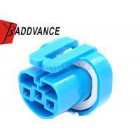 Buy cheap 12048369 Blue Female 3 Way Headlight Bulb Connector For International Truck from wholesalers