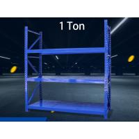 Buy cheap 1 Ton / Layer Warehouse Storage Shelves Steel Pallet Racks For Commercial Furniture from wholesalers