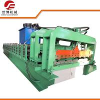 Buy cheap Roofing Sheet Glazed Tile IBR Iron Sheet Roll Forming Making Machine Line 1115 from wholesalers