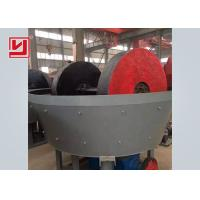 Buy cheap High Performance Iron Ore Dressing Equipment Wet Pan Mill For Gold Grinding from wholesalers