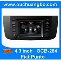 Buy cheap Ouchuangbo car Bluetooth DVD GPS Kit for Fiat Punto S100 platform with CD changer canbus high quality OCB-264 from wholesalers