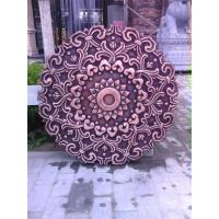 Wholesale city decor wall flowers bronze relief sculpture from china suppliers