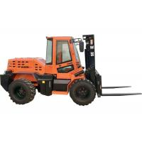 Buy cheap Custom 3.5 Ton Compact Rough Terrain Forklift With XINCHAI 490 Engine from wholesalers