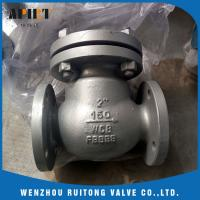 Wholesale swing check valve 150lb cast steel a216 wcb flange end API standard from china suppliers