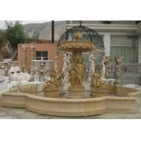 Wholesale Customized Sculpture Water Fountains Stone Fountains For Garden Marble Material from china suppliers