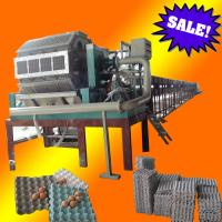 Buy cheap paper pulp molding egg tray making machine from wholesalers