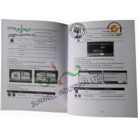 Buy cheap Saddle Stitching Custom Printed Booklets For Navigator Glossy Varnishing from wholesalers