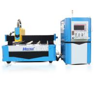 Buy cheap Laser cutter,HS-500W-3015 Open type dual-drive CNC fiber laser cutting machine for sale from wholesalers
