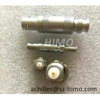 Buy cheap Factory price self-locking lemo S series coaxial cable connector plug and socket from wholesalers