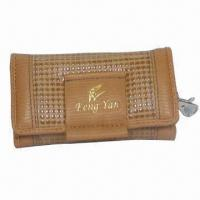 Wholesale Leather Key Wallet, Customized Specifications Accepted, Suitable for Promotional Purposes from china suppliers
