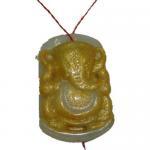 Buy cheap Hindu jade pendent.Hindu god pendent.Hindu religious pendent from wholesalers