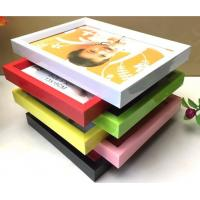 Buy cheap PVC plastic hand-make Children photo frame with different color available from wholesalers