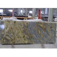 Buy cheap Tiger Yellow Granite Kitchen Countertops For Commercial / Residencial from wholesalers