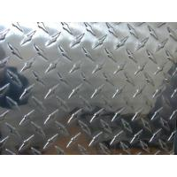 Buy cheap Professional Flat Clean Aluminium Checkered Plate , Al Tread Plates with 1100 3003 5052 from wholesalers