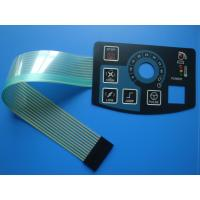 Waterproof LED Keyboard Membrane Switch With Led Window , Metal Dome