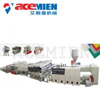 Buy cheap PVC Free Foam Sheet Foam Plate Making Machine 10-20T For Mounted Panels from wholesalers