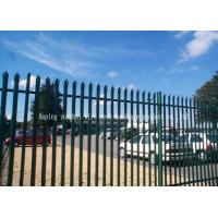 Buy cheap Triple Pointed Steel Palisade Fencing Gates Easily Assembled Low Maintenance from wholesalers