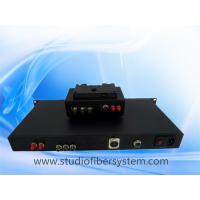 Buy cheap remote control broadcast camera systems with studio camera fiber adaptor and optic base station for live link from wholesalers