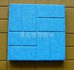 Buy cheap Fire Retardant Custom Rubber Gym Floor Tiles / Outdoor Flooring from wholesalers