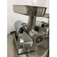 Buy cheap 750W Heavy Duty Commercial Meat Grinder Large Capacity With Enlarge Throat from wholesalers
