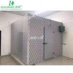 Buy cheap Sliding Door Outdoor Walk In Cooler With Aluminum Floor 208V 220V from wholesalers