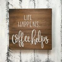 Buy cheap Exquisite Wooden Plaque Signs , 40 X 40 Cm Wooden Wall Decor With Sayings from wholesalers