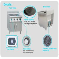 Buy cheap Commercial Customized Multi Burner Induction Stove With Rotary DIL Switches from wholesalers
