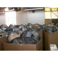 China Used Aluminum alloy wheel scrap for car on sale