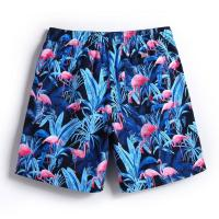 Buy cheap Quick Dry Mesh Cover Up Shorts , Mens Beach Swim Trunks Plus Size Waterproof from wholesalers