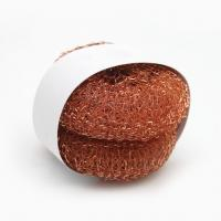 Buy cheap 25g H65 Pure Copper Scrubbers For Kitchen Cleaning Strong Cleaning Capacity from wholesalers