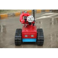 Buy cheap Remote Control Automatic Fire Fighting Robot , Automatic Fire Extinguisher Robot from wholesalers