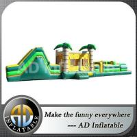 Buy cheap Coconut tree gaint jungle inflatable obstacle course from wholesalers