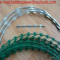 Buy cheap the razor wire/razor wire prices south africa/prison razor wire/concertina wire suppliers/razor wire specification from wholesalers