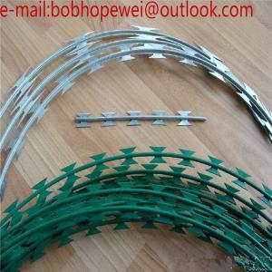 Wholesale the razor wire/razor wire prices south africa/prison razor wire/concertina wire suppliers/razor wire specification from china suppliers