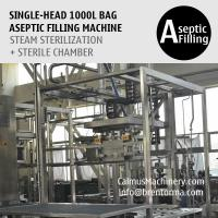 Buy cheap 1000 Litre Bag Aseptic Filling Machine 1000L IBC Liner Bag Aseptic Filler from wholesalers