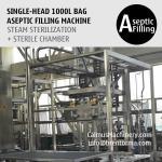 Buy cheap 1000 Litre Bag Aseptic Filling Machine 1000L IBC Liner Bag Aseptic Filler from wholesalers