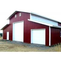 Buy cheap Qualified Steel Structure Warehouse Light Gauge Steel Buildings For Storage from wholesalers