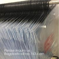 Buy cheap Poly Clear Plastic Hanger Covers Dry Cleaning Bags On Roll For Shirt,Hanger hook plastic bags zipper bag manufacturers from wholesalers