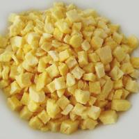 Wholesale Freeze Dried Fruit Yellow Peach Dices from China Healthy Ingredient Manufactures