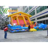 Buy cheap Renting Inflatable Fun City With Moonwalk Bounce For Adult And Child from wholesalers