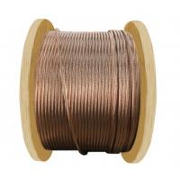 Buy cheap Unarmoured Copper Clad Aluminum House Wiring 600/1000V Rating Voltage from wholesalers
