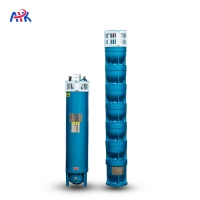 Buy cheap 8 10 12 14 Inch 20hp 30hp 40hp 75hp 100hp 300hp Electric AC Water Submersible Pump from wholesalers
