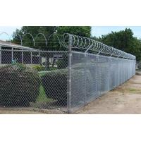 Buy cheap 1.8m height of Galvanized Cyclone chain wire/ Chain-Link Fence Gate Victoria from wholesalers