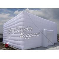 Buy cheap Party Show Outdoor Inflatable Building Structures , PVC Inflatable Tent Rental from wholesalers