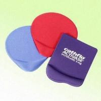 Buy cheap Ergonomic Gel Mouse Pads Available for Customer's Logo Printing and OEM Shape Manufacturing from wholesalers