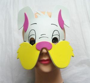 Halloween Christmas Children Cartoon EVA Forest Animal Rabbit Mask Manufactures