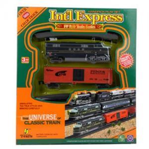 China Electric Slot Train Set, B/O Train Toys on sale