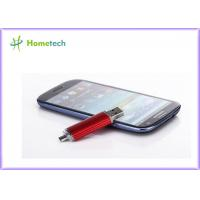 Buy cheap 4G 8G 16G 32G 64GB OTG USB Flash Drive for Android / OS X Mobile Phone from wholesalers